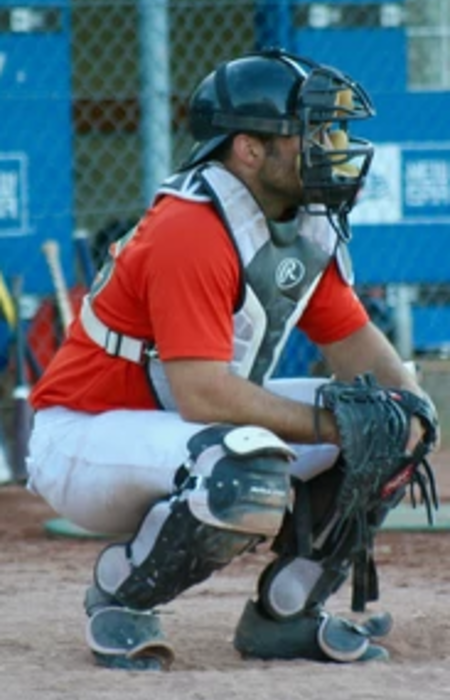 SIBL catcher giving signs